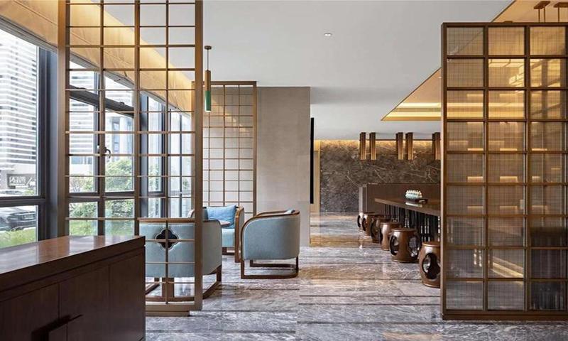 High-end Hotel Fixed Furniture Customizing