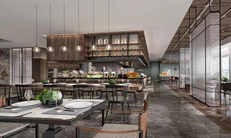 High-end Hotel Cafeteria Furniture- GOJO