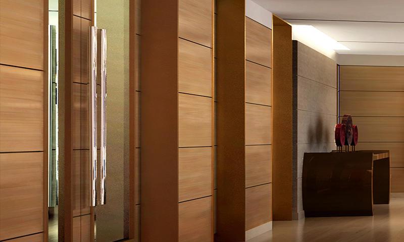 Hotel Fixed Wall-protection Veneer Finish