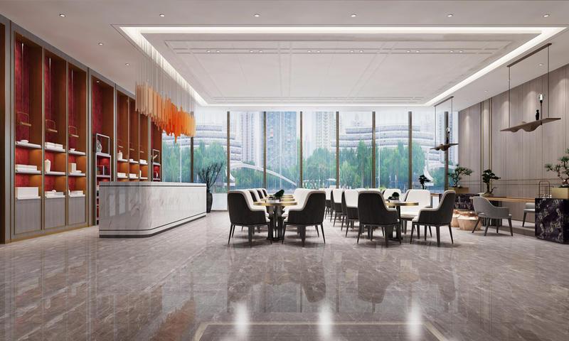Sales Department Model House Furniture-01