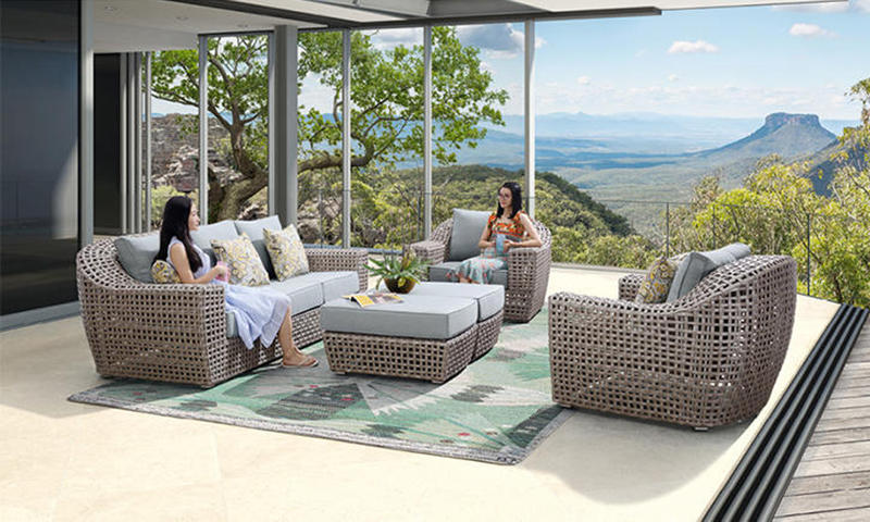 Hotel Outdoor Furniture  Outdoor Sofa