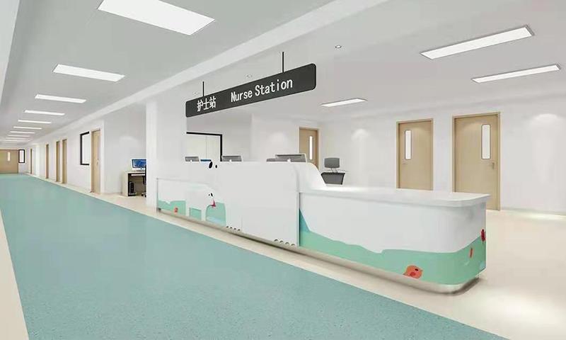 Nurse Station Furniture Children's Hospital
