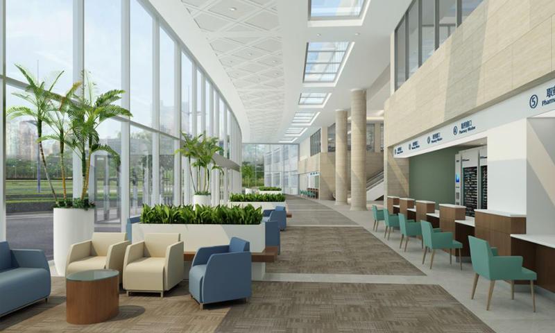 Hospital Waiting Area Furniture