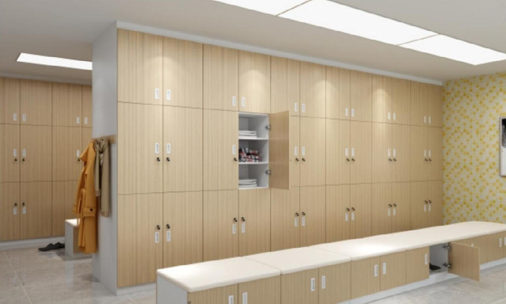 Health Care Lounge changing room Lockers