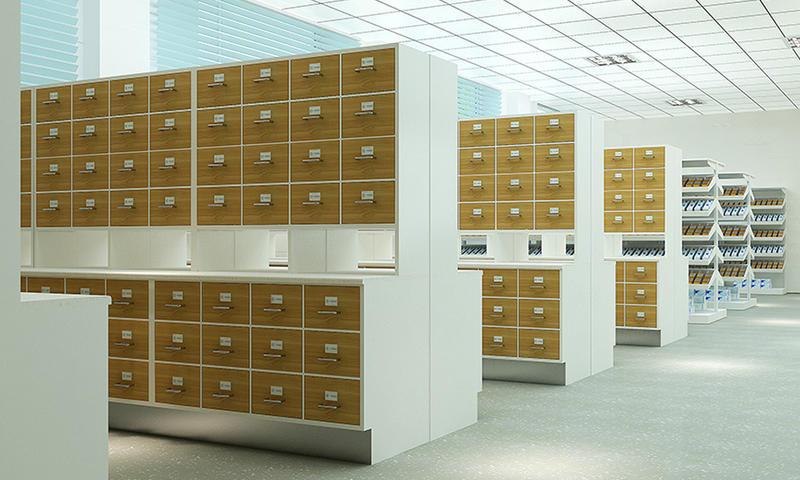 Chinese Pharmacy Furniture TCM Cabinet