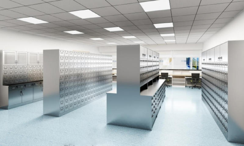 Steel Cabinet Pharmacy Furniture