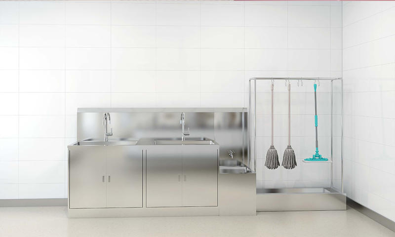 Steel Sewage Washing Room Furniture-02