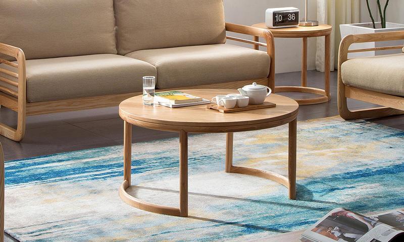 Round Elderly-oriented Tea Table