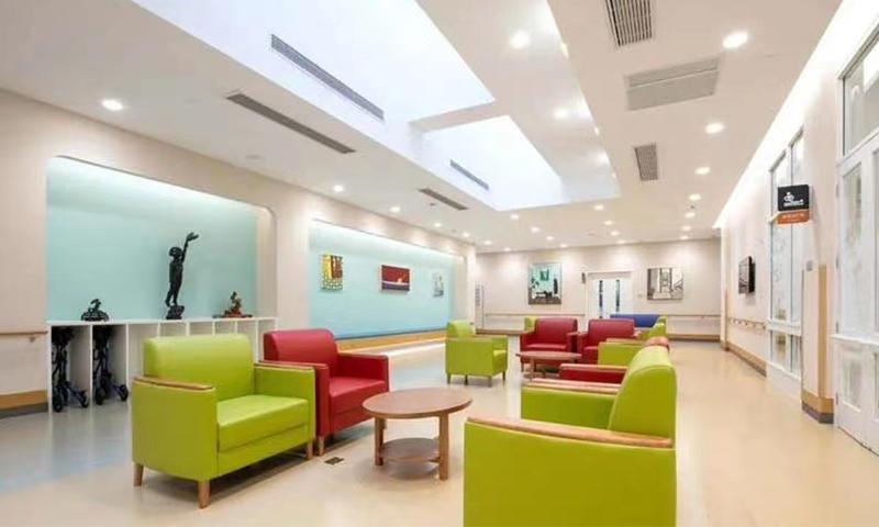 Pension House / Nursing House Public Activity Furniture-02