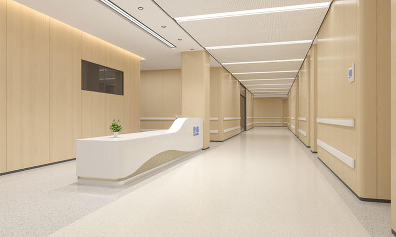 Pension House Front Desk/Reception Counter-02