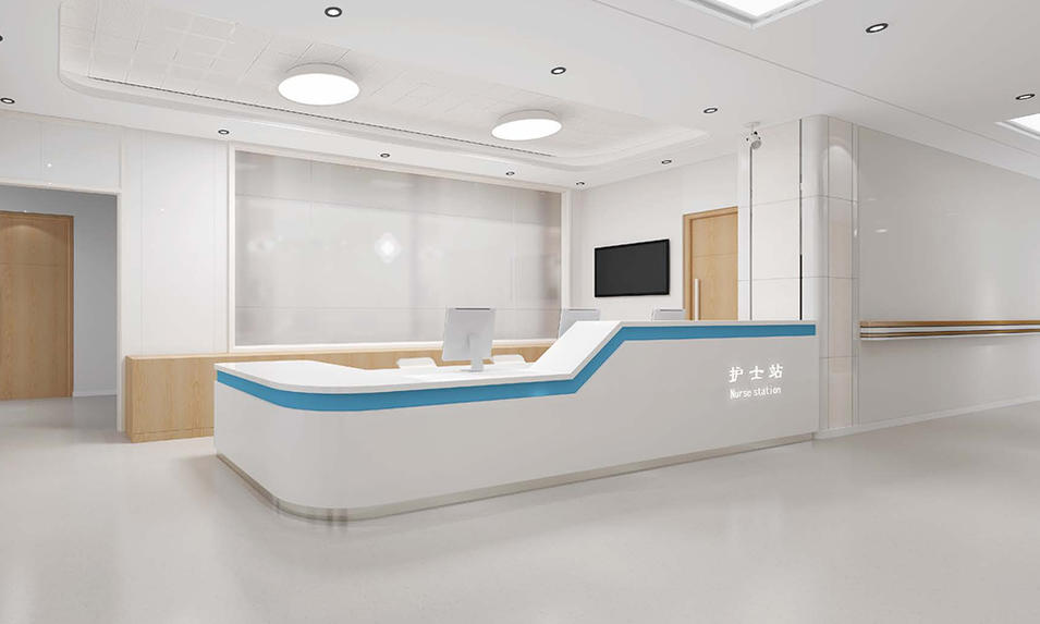 Pension House Front Desk/Reception Counter-07