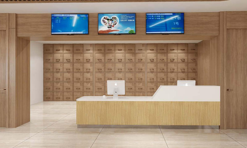 Pension House Front Desk/Reception Counter-08