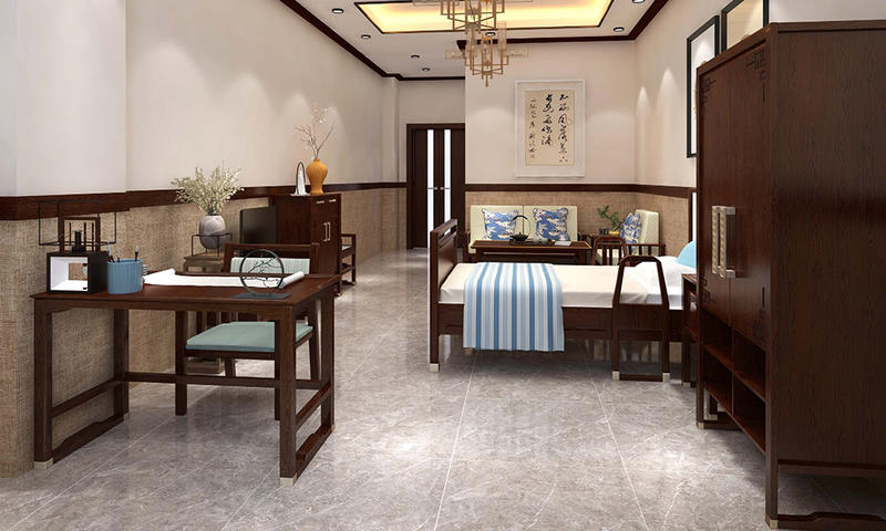 Chinese Style Self-care Room Matching Furniture