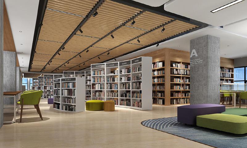 Bookshelf and Periodicals Rack-01