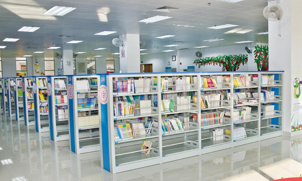 Bookshelf and Periodicals Rack-03