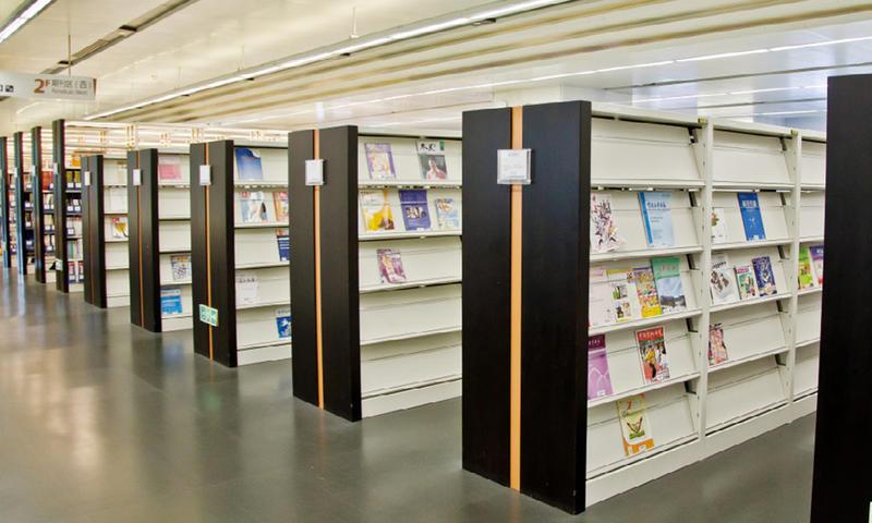 Bookshelf and Periodicals Rack-04