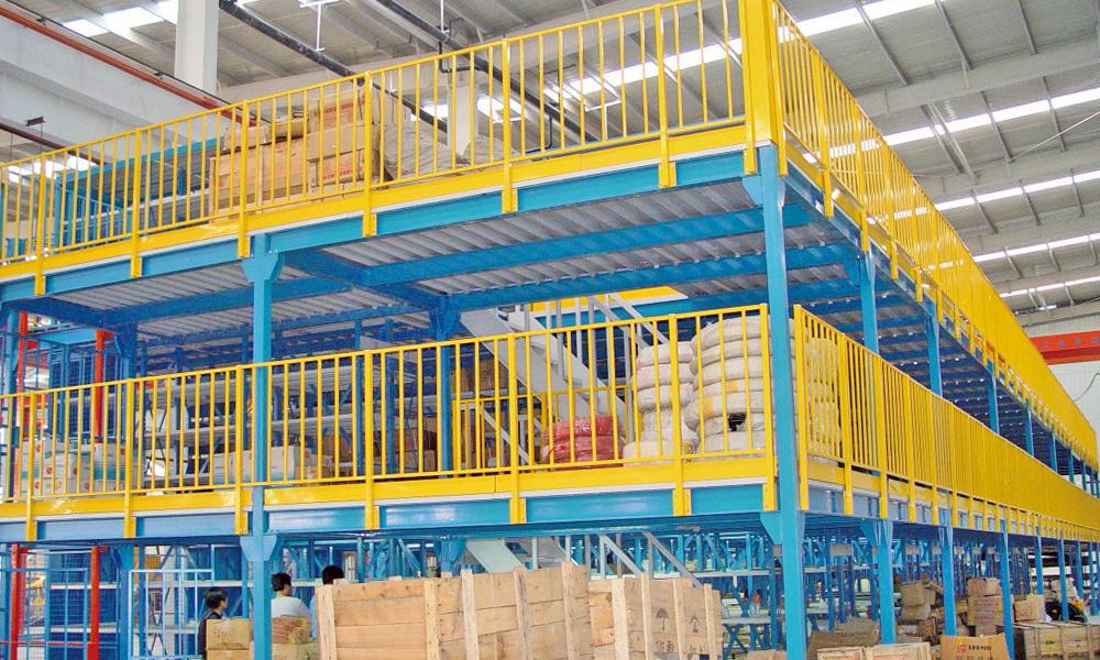 Multi-tier Rack Loft Goods Shelves