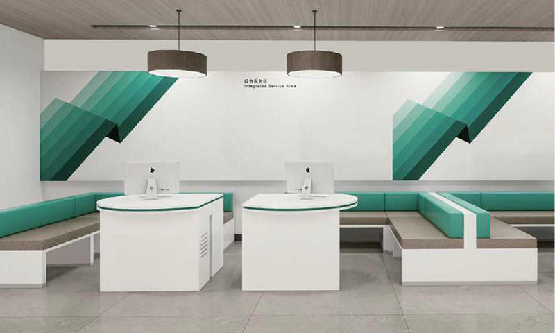 Custom Banks Counter Furniture Suppliers