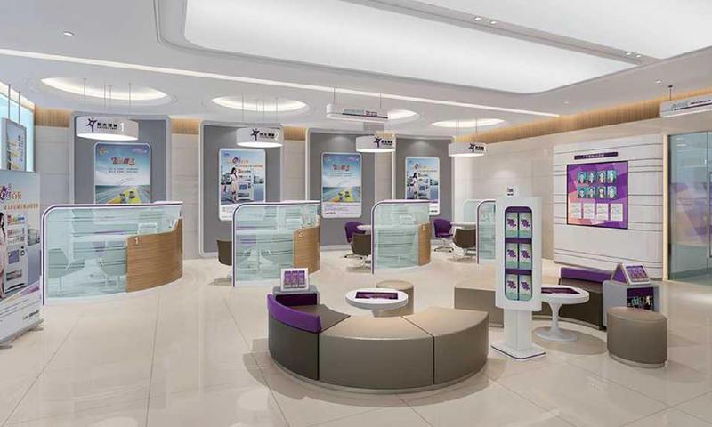 Business Processing Area Custom Bank Lobby Furniture Distributors