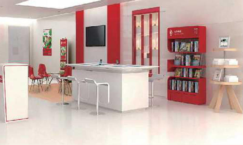 Exhibition Counter/Display Cabinet Custom Best Filing Display Cabinet Factory
