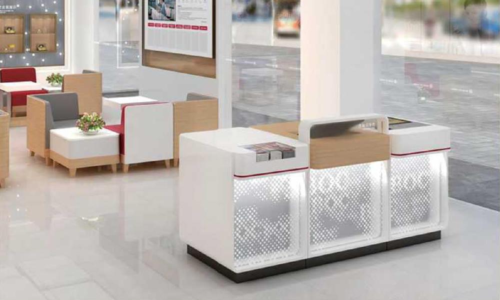 Bank Reception Counter/Front Desk