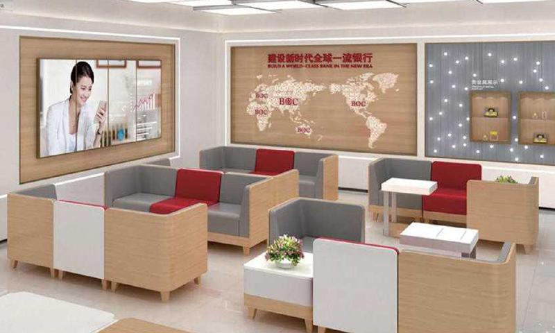 Bank Furniture Free Combination Public Area Sofa