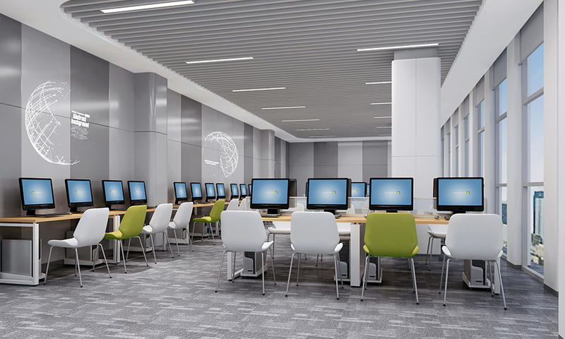 Computer Room Professional Course Classroom