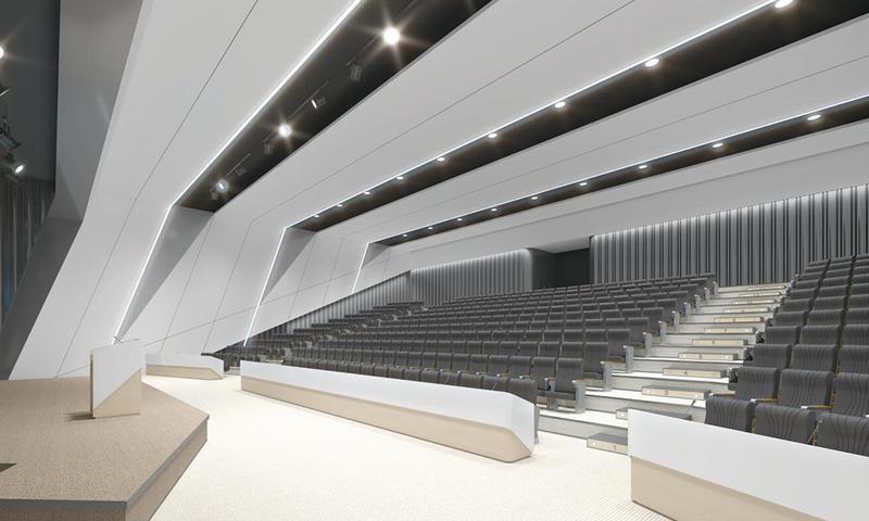 Terrace Classroom / Lecture Theatre-01