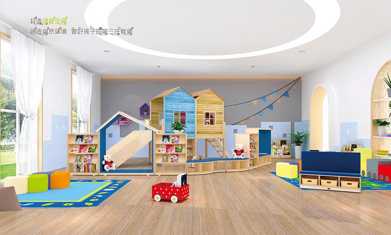 Kindergarten play area furniture