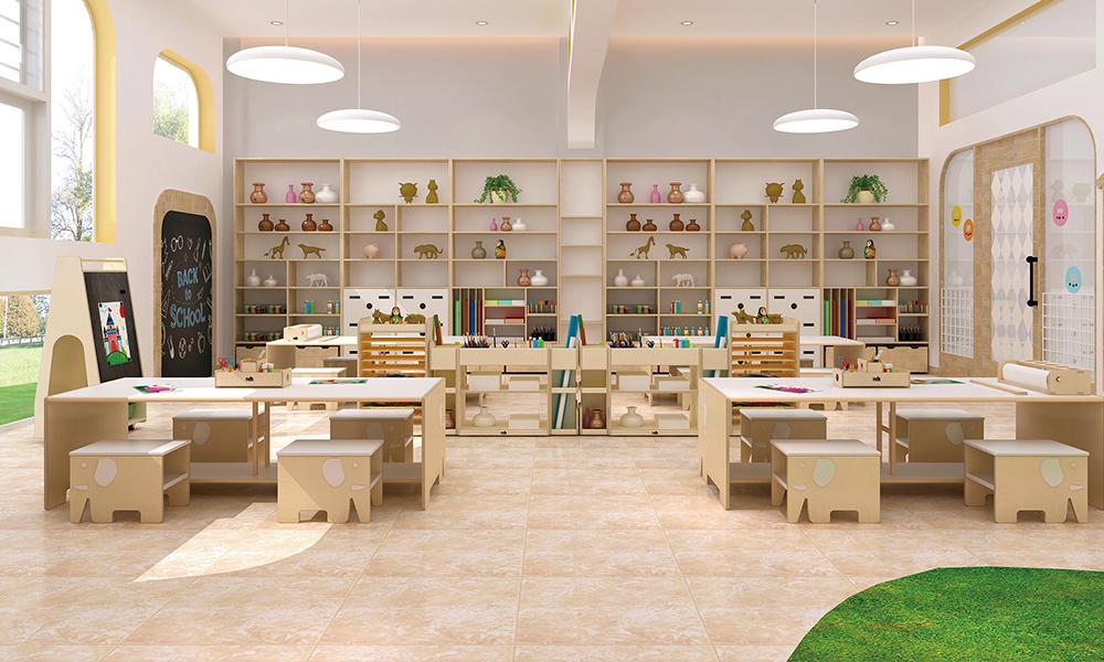 Kindergarten Handicraft Area Furniture