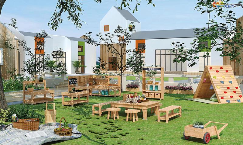 Kindergarten Outdoor Furniture