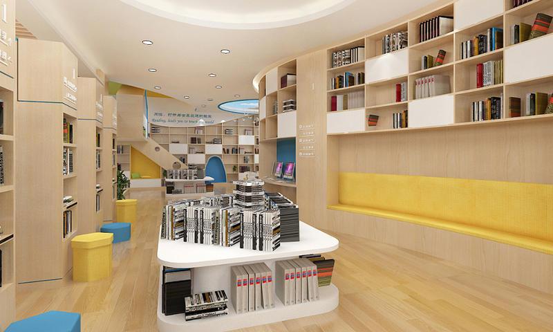 Library Medium-high Island Cabinet