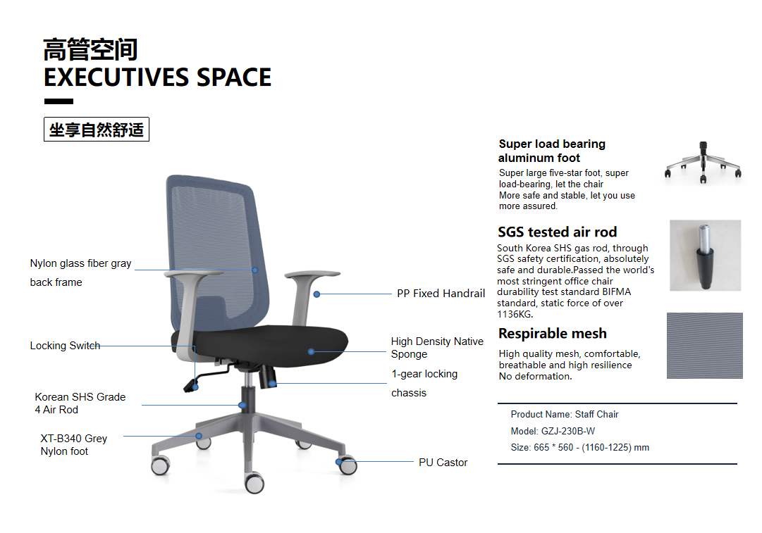 news-Best Supplier for Executive Chair,Visitor Chair, Meeting Chair,Mesh Chair-Gojo Furniture-img-2