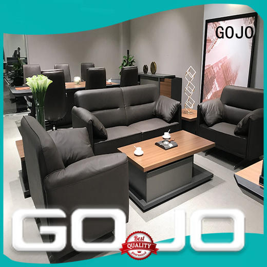 leather lobby furniture sets manufacturer for guest room
