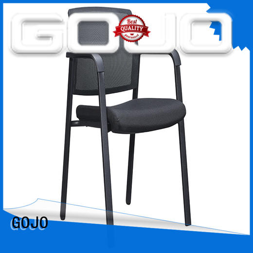 GOJO ergonomic executive office chair with new white paint feet for executive office