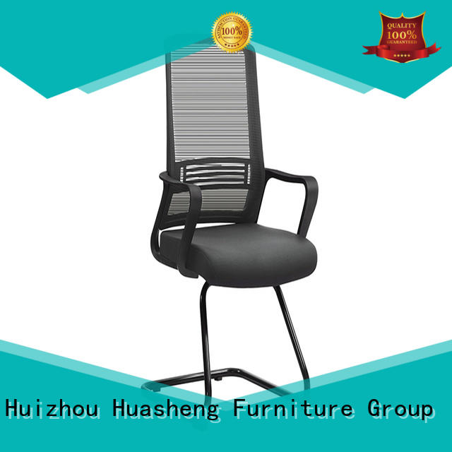 GOJO brown leather executive office chair with lumbar support for boardroom