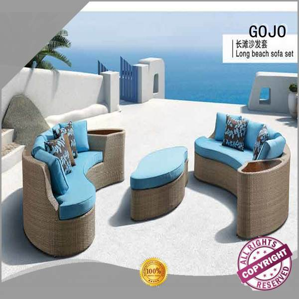 Custom best outdoor furniture for open or semiopen space