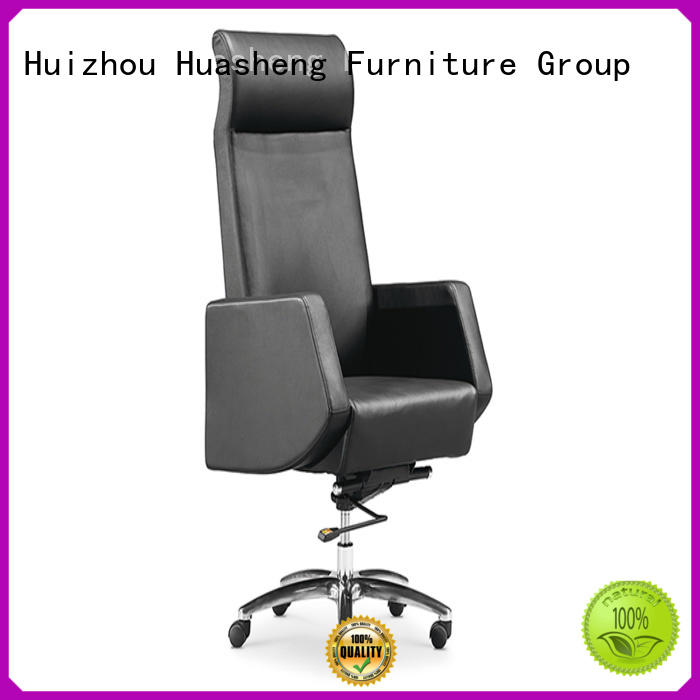 GOJO big high office chair with aluminium foot for ceo office