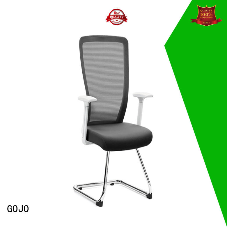 flex executive office chair with new white paint feet for boardroom
