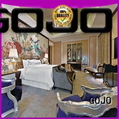 GOJO room hotel bedroom furniture wholesale factory for motel