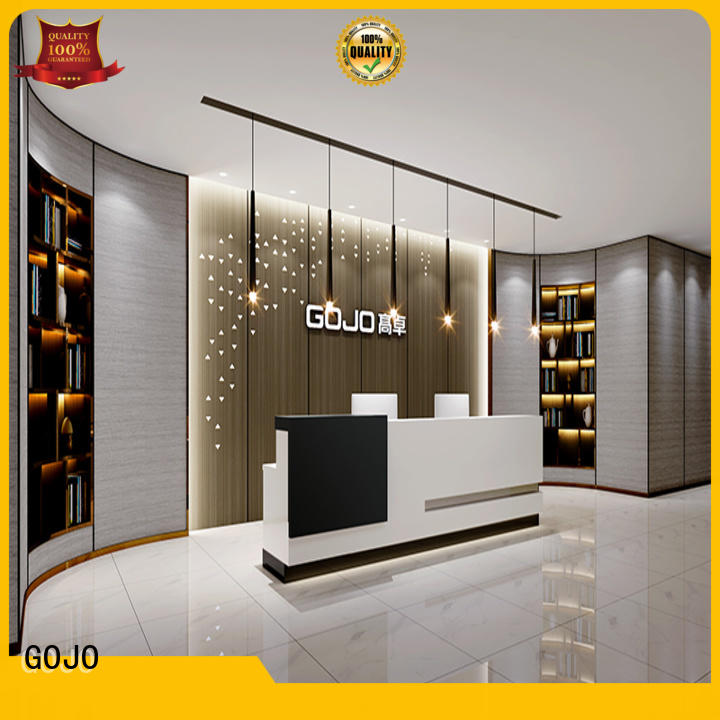 GOJO Wholesale front office table company for lobby