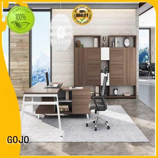 black executive office desk supplier for sale GOJO