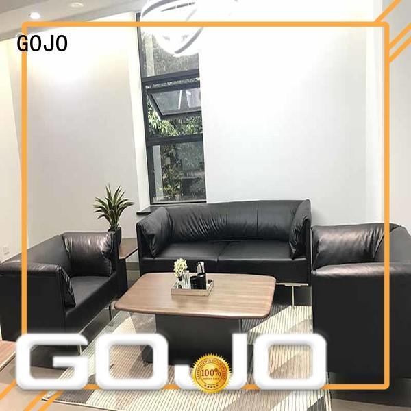 GOJO lobby sofa set company for guest room