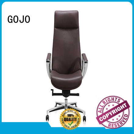 guanz red leather office chair manufacturer for boardroom