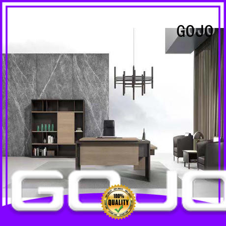 mdf solid wood office furniture wholesale for executive office GOJO