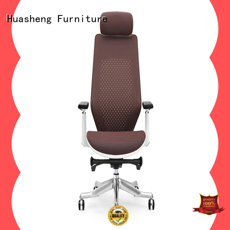 yihe high executive chair with aluminium alloy feet for executive office GOJO