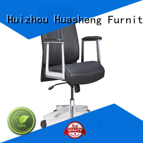 leather high back executive ergonomic office chair with aluminium alloy feet for executive office GOJO
