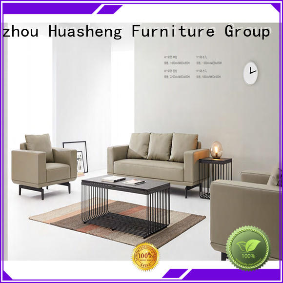 GOJO yuche furniture sofa set supplier for reception area