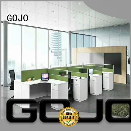 GOJO wooden clerk desks supplier for clerk area