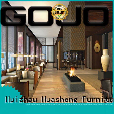 GOJO huasheng hotel lobby furniture stylish for hotel